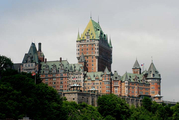 Famous Hotel In Quebec City