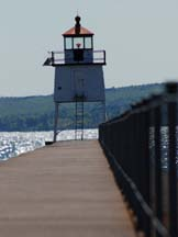 Two Harbors Pier Light