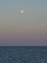Moon over Lake Huron thumbnail
